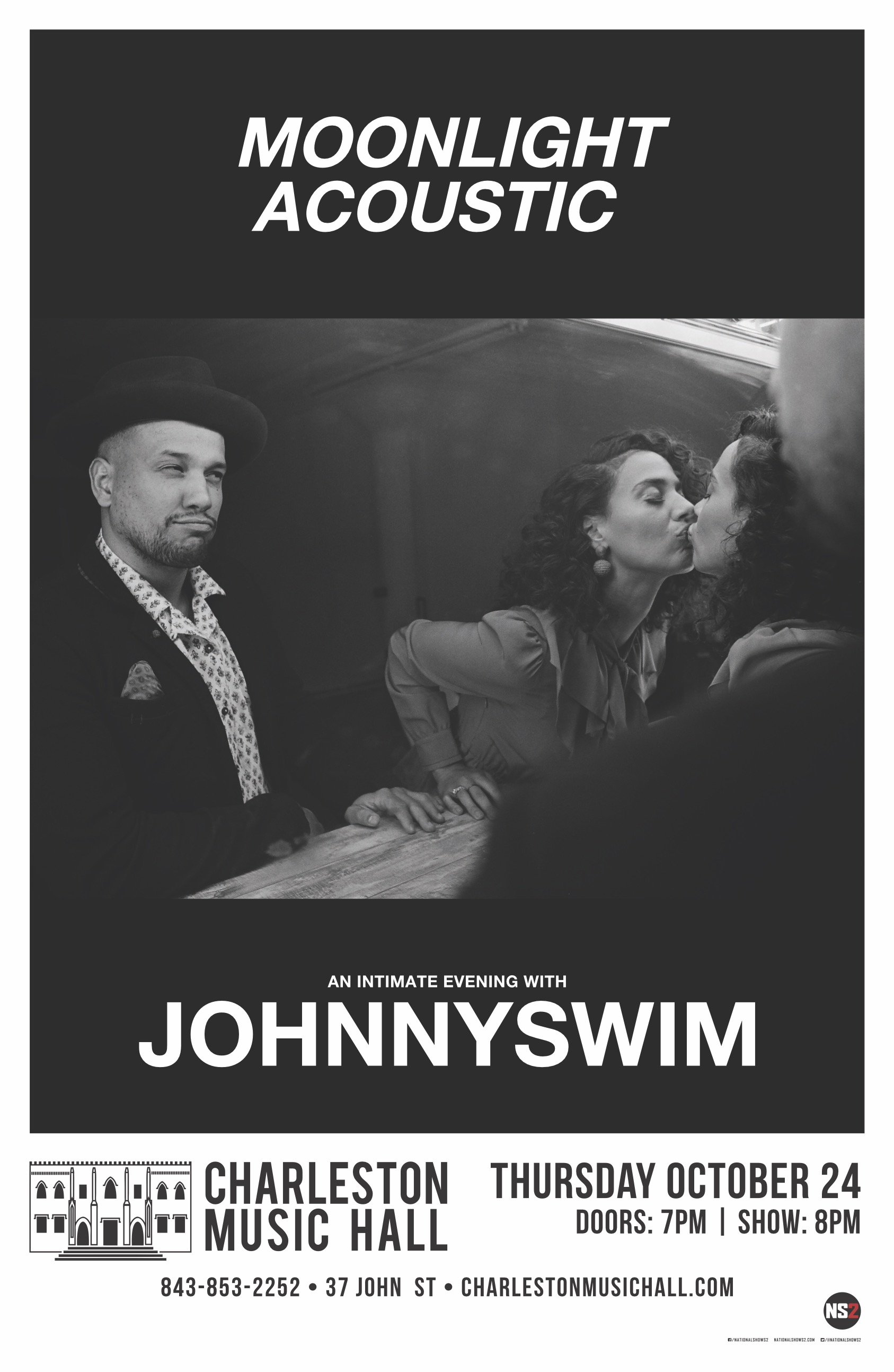 JohnnySwim Charleston Music Hall OFFICIAL WEBSITE